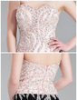 Sheath/Column Sweetheart Floor-Length Chiffon Charmeuse Evening Dress With Beading Sequins Split Front (017019560)