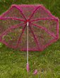Charming Lace Wedding Umbrellas (124036909)