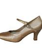 Women's Satin Heels Pumps Ballroom With Buckle Dance Shoes (053013034)