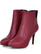 Leatherette Stiletto Heel Ankle Boots shoes (088054406)