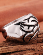 Unique Titanium Steel Unisex Fashion Rings (137055590)