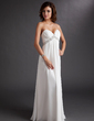 Empire Sweetheart Floor-Length Chiffon Wedding Dress With Ruffle Beading (002011702)
