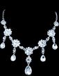 Gorgeous Alloy/Rhinestones Women's Jewelry Sets (011028408)
