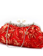 Elegant Seide mit Blume/Strass Handtaschen (012031261)
