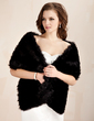 Faux Fur Special Occasion Shawl (013020431)