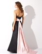 Trumpet/Mermaid Strapless Floor-length Taffeta Bridesmaid Dress With Sash