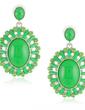 Nice Alloy Resin Fashion Earrings (011029980)