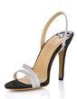 Women's Leatherette Stiletto Heel Sandals Slingbacks shoes (087017923)