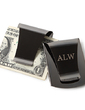 Personalized Classic Pattern Stainless Steel Money Clips (051028988)