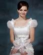 Satin Elbow Length Bridal Gloves (014020516)