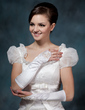 Elastic Satin Elbow Length Party/Fashion Gloves/Bridal Gloves (014020510)