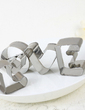 Love Design Chrome Cake and Cookie Cutter Mold (051030959)