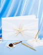 Starfish and Seashell Guestbook & Pen Set (101018133)