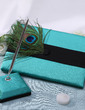 Peacock Feather Feather Guestbook & Pen Set (101037359)