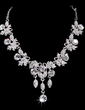 Gorgeous Alloy With Crystal Ladies' Jewelry Sets (011028518)