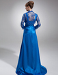 Long Sleeve Tulle Special Occasion Wrap (013012463)
