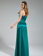 Empire Sweetheart Floor-Length Charmeuse Bridesmaid Dress With Cascading Ruffles (007019615)