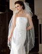 Three-tier Waltz Bridal Veils With Scalloped Edge (006036619)