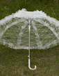 Excellent Lace Wedding Umbrellas With Appliques (124036965)