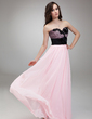 A-Line/Princess Sweetheart Floor-Length Chiffon Prom Dress With Appliques Lace Flower(s) (018018799)