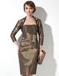3/4-Length Sleeve Taffeta Special Occasion Wrap (013012271)