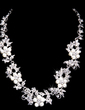 Gorgeous Alloy/Pearl With Rhinestone Women's Jewelry Sets (011028539)
