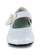Kids' Leatherette Flat Heel Closed Toe Flats With Bowknot (047039166)