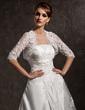 Yarım Kol Dantel Düğün Ceketler/Şallar (013012558)
