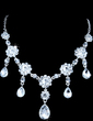 Gorgeous Alloy/Rhinestones Women's Jewelry Sets (011028497)