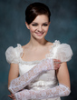 Lace Elbow Length Bridal Gloves (014020502)