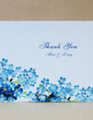 Personalized Flower Design Hard Card Paper Thank You Cards (Set of 50) (118029361)