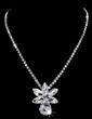 Flower Shaped Alloy/Rhinestones Ladies' Jewelry Sets (011028419)