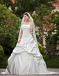 One-tier Cathedral Bridal Veils With Lace Applique Edge (006026636)