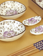 Pretty Sakura Design Ceramic/Bamboo Cutlery set (051026314)