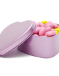 Simple Heart-shaped Favor Tin (Set of 12) (050054845)