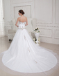 Ball-Gown Sweetheart Royal Train Tulle Wedding Dress With Embroidered Beading (002012752)