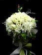 Elegant Hand-tied Satin/Cotton Bridal Bouquets (123031432)
