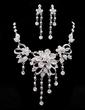 Beautiful Alloy/Rhinestones Ladies' Jewelry Sets (011019285)