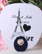 Personalized Eiffel Tower Design Plastic Hand Fans (118029513)