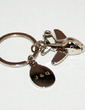 Personalized Global Traveller Zinc Alloy Keychains (Set of 4) (051029050)
