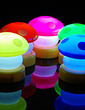 Mushroom Design Vinyl LED Lights (set of 4) (131036860)