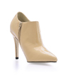 Patent Leather Stiletto Heel Closed Toe Pumps Ankle Boots (088014142)
