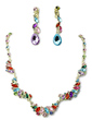 Unique Alloy/Rhinestones Ladies' Jewelry Sets (011017252)