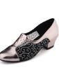 Women's Leatherette Heels Practice Dance Shoes (053057186)