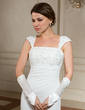 Elastic Satin Elbow Length Party/Fashion Gloves/Bridal Gloves (014024482)