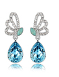 Elegant Alloy With Crystal Women's Earrings (011037027)