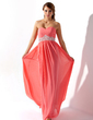 Empire Sweetheart Floor-Length Chiffon Prom Dress With Ruffle Beading (018005353)