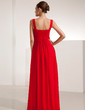 Empire Sweetheart Floor-Length Chiffon Evening Dress With Ruffle (017021123)