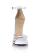Women's Patent Leather Stiletto Heel Closed Toe Pumps With Buckle (047026434)