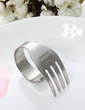 Personalized Fork Design Zinc Alloy Napkin Rings (118030924)